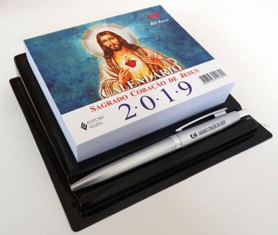 CALENDÁRIO DE MESA DO SAGRADO CORAÇÃO DE JESUS 2019
