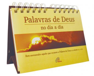 CALENDARIO DE MESA - PALAVRAS DE DEUS NO DIA A DIA (PERMANENTE DE MESA)