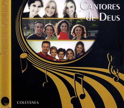 CD CANTORES DE DEUS - COLETANEA SERIE OURO