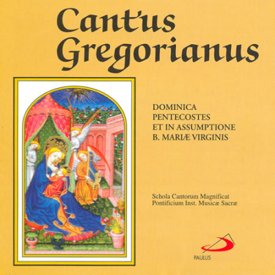 CD CANTUS GREGORIANUS DOMINICA PENTECOSTES