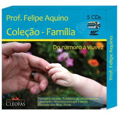 CD FAMILIA - DO NAMORO A VIUVEZ C/ 5CDS