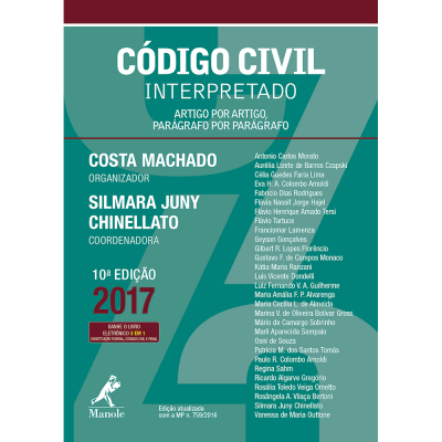 CODIGO CIVIL INTERPRETADO - ARTIGO POR ARTIGO PARAGRAFO POR PARAGRAFO