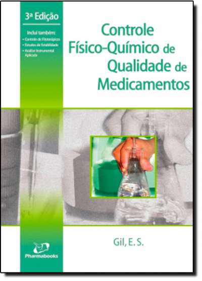 CONTROLE FISICO-QUIMICO DE QUALIDADE DE MEDICAMENTOS - 3