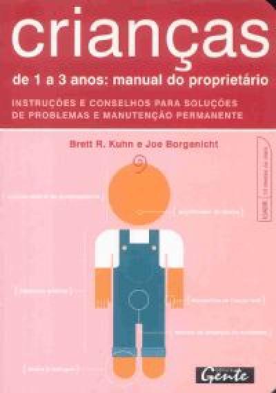 CRIANÇAS DE 1 A 3 ANOS - MANUAL DO PROPRIETARIO