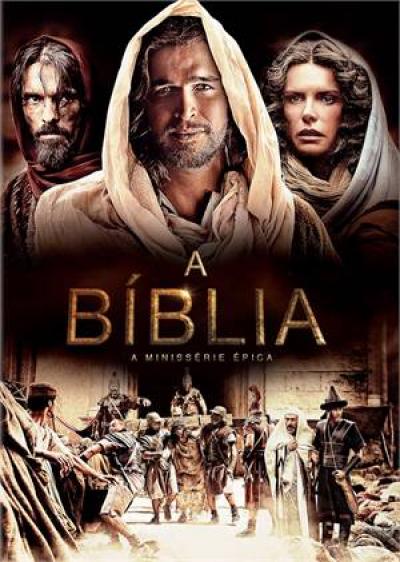 DVD A BÍBLIA - A MINISÉRIE ÉPICA - 4 DISCOS