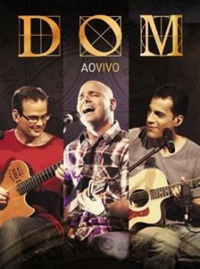 DVD BANDA DOM - AO VIVO