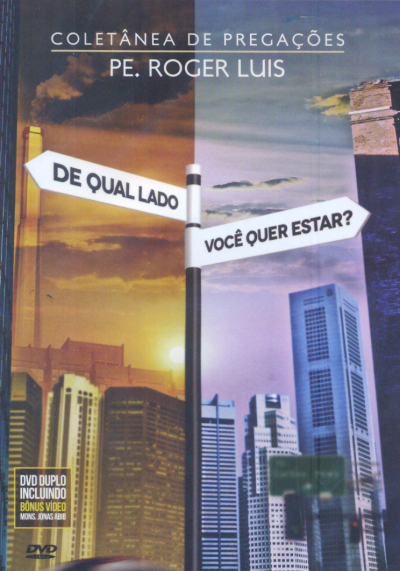 DVD DE QUAL LADO VOCE QUER ESTAR  - DUPLO - 1ª