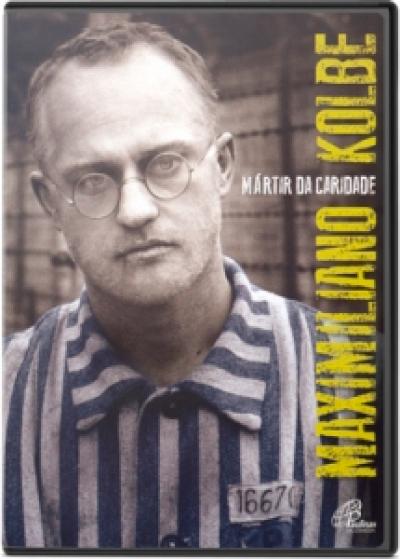 DVD MAXIMILIANO KOLBE - MARTIR DA CARIDADE