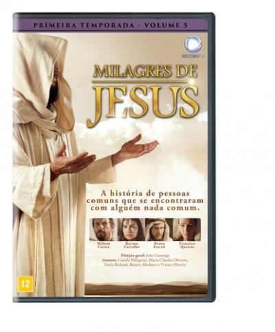 DVD MILAGRES DE JESUS - 1 TEMPORADA - VOLUME 05
