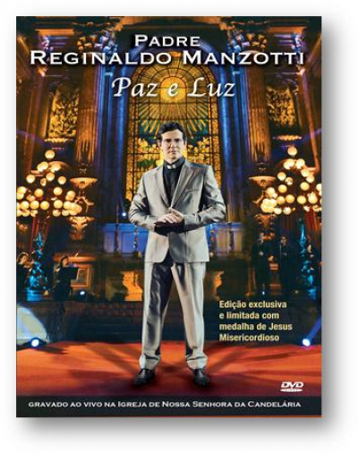 DVD PAZ E LUZ AO VIVO