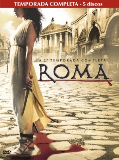 DVD ROMA - 2ª TEMPORADA COMPLETA