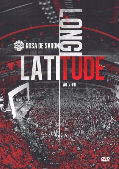 DVD ROSA DE SARON - LATITUDE LONGITUDE AO VIVO - 1ª