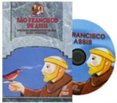 DVD SAO FRANCISCO DE ASSIS - MINI CONTOS