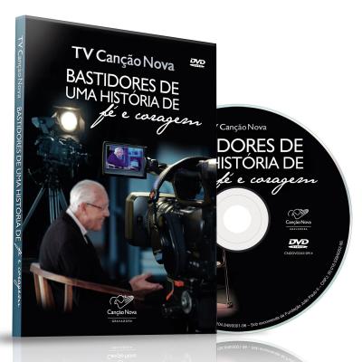 DVD TV CANCAO NOVA - BASTIDORES DE UMA HISTORIA DE FE E CORAGEM - 1ª