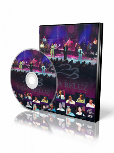 DVD VIDA RELUZ AO VIVO
