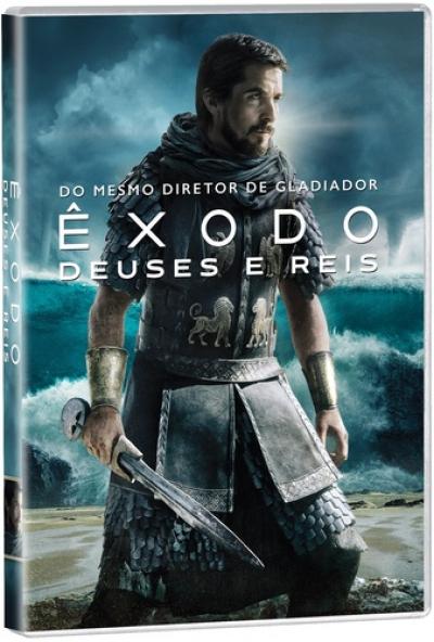 DVD ÊXODO - DEUSES E REIS