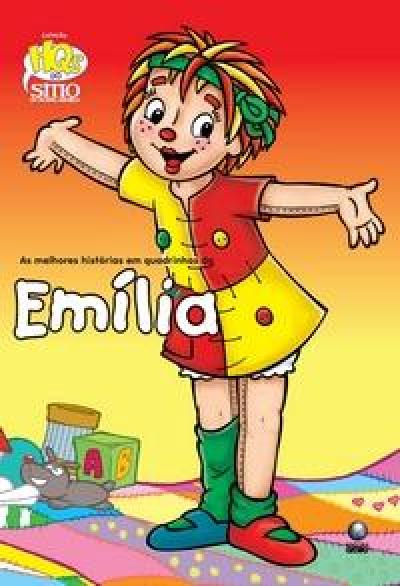 EMILIA - COLECAO HQS DO SITIO DO PICAPAU AMARELO