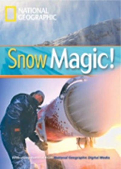 FOOTPRINT READING LIBRARY - LEVEL 1 800 A2 - SNOW MAGIC!