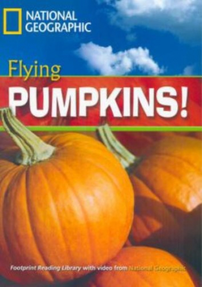FOOTPRINT READING LIBRARY - LEVEL 3 1300 B1 - FLYING PUMPKINS!