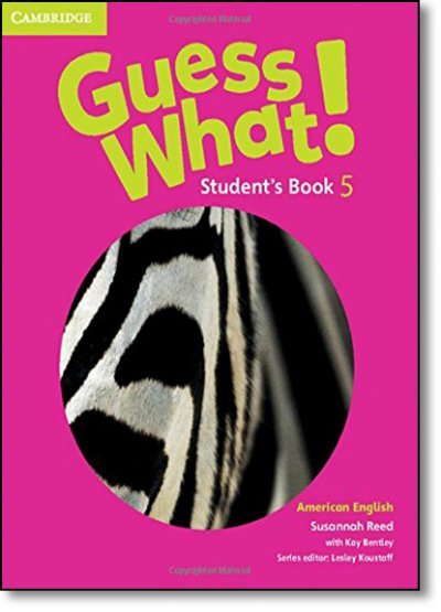 GUESS WHAT! 5 - STUDENT´S BOOK