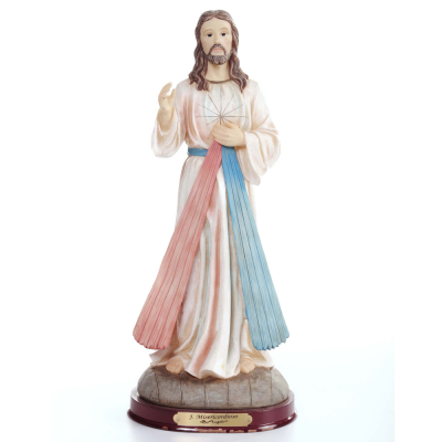 IMAGEM JESUS MISERICORDIOSO 30CM DE ALTURA