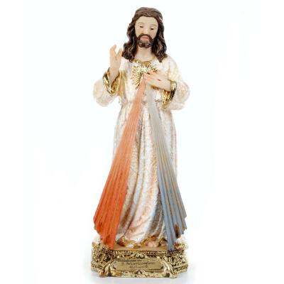 IMAGEM JESUS MISERICORDIOSO BARROCO 20CM DE ALTURA