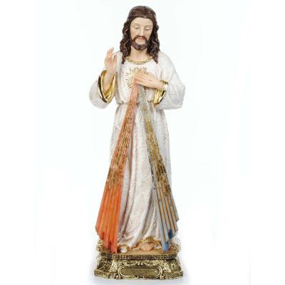 IMAGEM JESUS MISERICORDIOSO BARROCO 40CM DE ALTURA