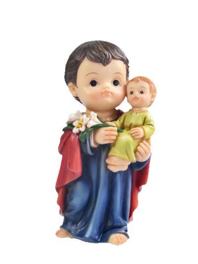 IMAGEM SÃO JOSÉ 10CM DE ALTURA INFANTIL