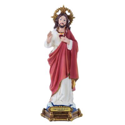 IMAGEM SAGRADO CORAÇÃO DE JESUS 20CM DE ALTURA