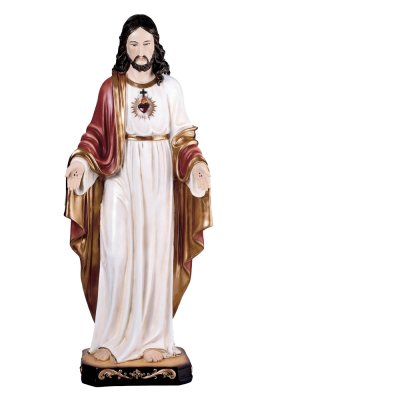 IMAGEM SAGRADO CORAÇÃO DE JESUS 79CM DE ALTURA