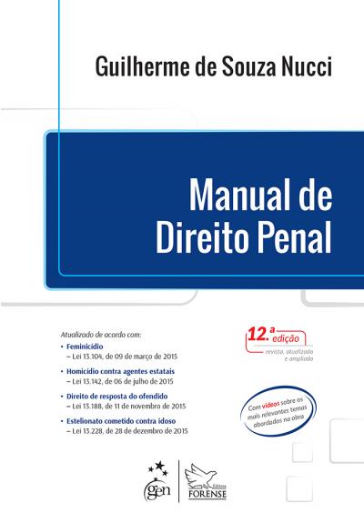 MANUAL DO DIREITO PENAL