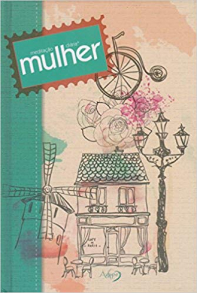 MEDITAÇÃO DIÁRIA MULHER - ILUSTRADA VERDE
