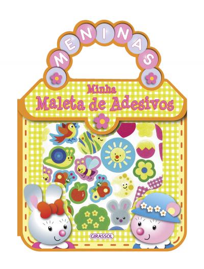 MINHA MALETA DE ADESIVOS - MENINAS