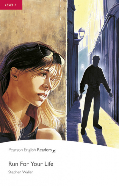 PENGUIN READERS 1: RUN FOR YOUR LIFE BOOK AND CD PACK