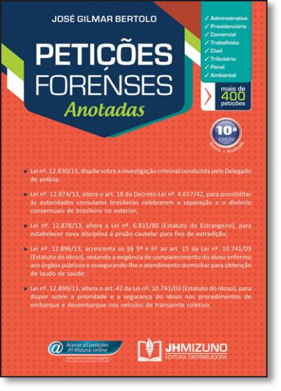 PETICOES FORENSES ANOTADAS - 10