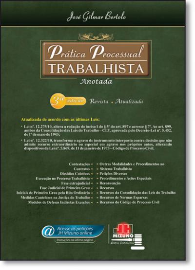 PRATICA PROCESSUAL TRABALHISTA ANOTADA - 3