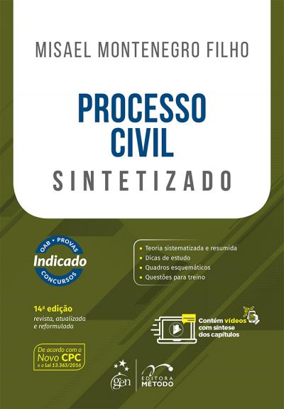 PROCESSO CIVIL SINTETIZADO