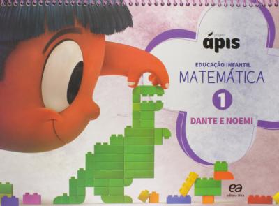 PROJETO ÁPIS MATEMÁTICA - VOLUME 1