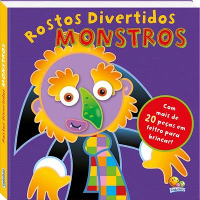 ROSTOS DIVERTIDOS: MONSTROS