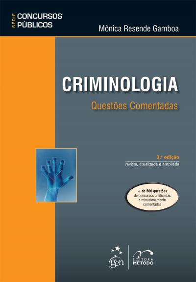 SÉRIE CONCURSOS PÚBLICOS - CRIMINOLOGIA