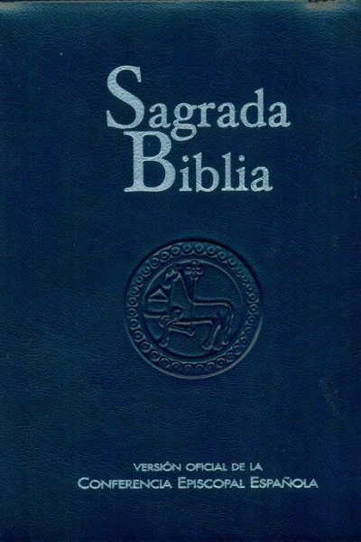 SAGRADA BIBLIA - SIMIL PIEL CREMALLERA