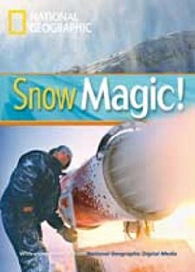 SNOW MAGIC! - WITH MULTI-ROM - BRITISH ENGLISH - LEVEL 1 - 800 A2