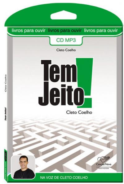 TEM JEITO - AUDIOLIVRO - 1ª