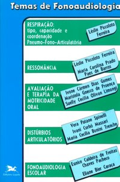 TEMAS DE FONOAUDIOLOGIA