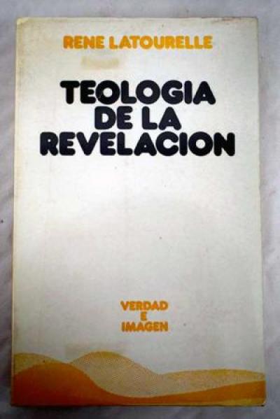 TEOLOGIA DE LA REVELACION