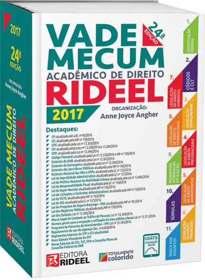 VADE MECUM ACADÊMICO DE DIREITO - 2017