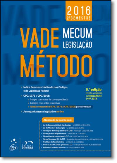 VADE MECUM - LEGISLACAO