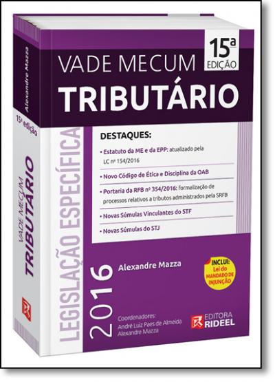 VADE MECUM TRIBUTARIO - 2016